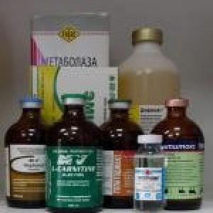 Растворы и средства регулирующие обмен веществ
