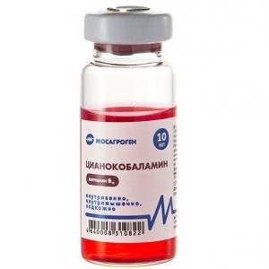 Цианкобаломин 0,05% 10мл