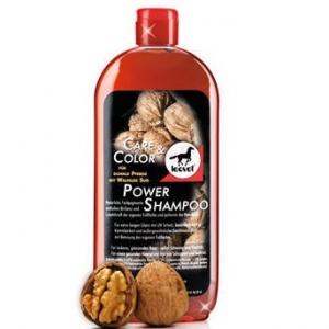 Шампунь для темных лошадей Power Shampoo walnut с грецким орехом, 500 мл