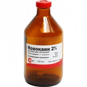 Новокаин 2%, 100мл
