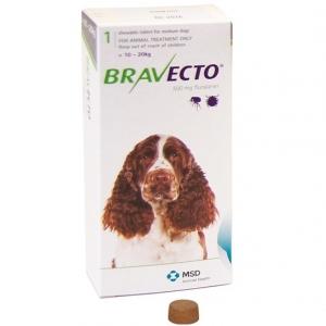 Бравекто (Bravecto) 500 мг (для собак средних пород 10-20кг)