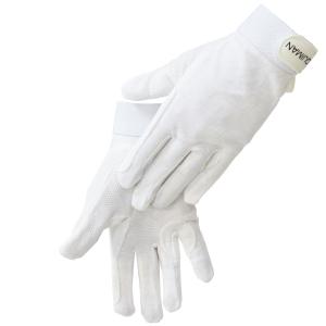 Перчатки хлопковые  для верховой езды (белые) , пара
