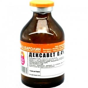 Дексавет  (Dexavetum )  0,4%, флакон 100мл