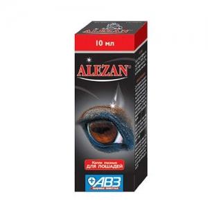 Алезан (Alezan), глазные капли для лошадей, 10мл