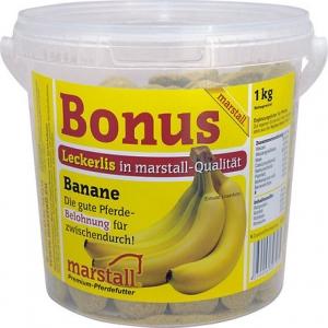 Бонус угощение для лошадей Банан, 1кг