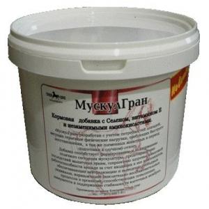 Мускул Гран с Селеном и витамином Е, 0,5 кг