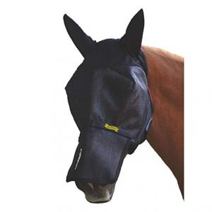 Маска от мух с ушами со съемным носом (UltraShield EX Fly Mask) размер Horse