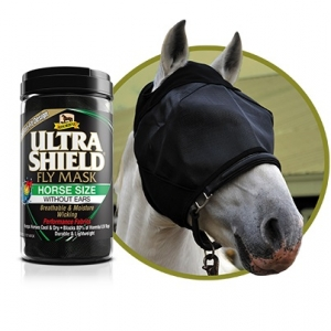 Маска от мух без  ушей (UltraShield EX Fly Mask) размер Horse