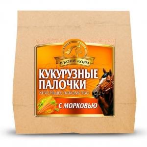 КУКУРУЗНЫЕ ПАЛОЧКИ Морковь, 300г