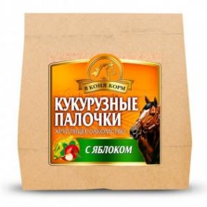 КУКУРУЗНЫЕ ПАЛОЧКИ Яблоко,300г